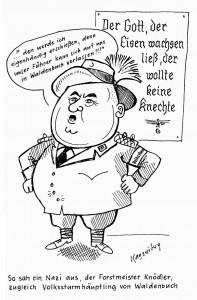 Karikatur von Erwin Kaysersberg