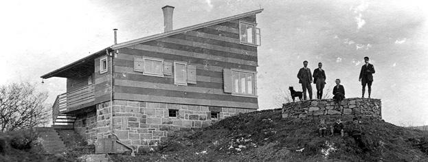 Haus Rist auf kahler Steinhalde, 1927