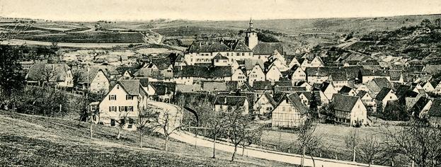 Tübinger Strasse ca. 1940