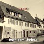 Unser Haus in der Glashütte nach dem Umbau 1942