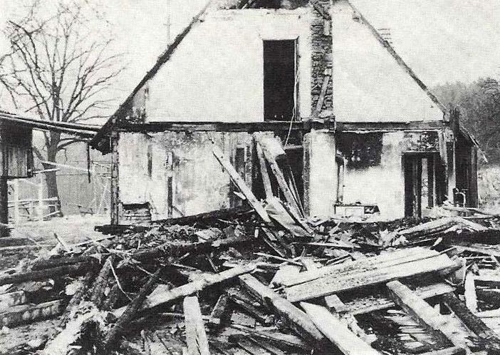 6. März 1973. Brandstiftung auf der JVW