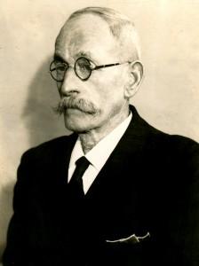 Friedrich Pfannenschwarz, Säger im Sägewerk Baumann